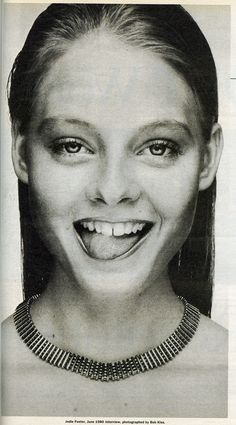 """Normal is not something to aspire to, it's something to get away from."" ~ Jodie Foster"