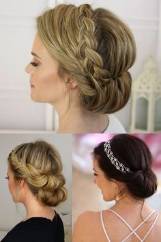 For Thin Fine Hair Updo's For Thin Fine Hair — Yisell Santos :: Hair & Makeup Artist Bridesmaid Hair Updo, Prom Hair Updo, Braid Hair, Bridesmaid Dresses, Up Hairstyles, Braided Hairstyles, Wedding Hairstyles, Bridal Hairstyle, Formal Hairstyles