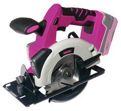 The Original Pink Box Cordless 18-Volt Lithium Ion Cordless Saw - Tools - Cordless Handheld Power Tools - Circular Saws