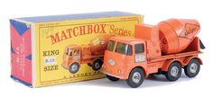 "Matchbox Kingsize No.K13 ERF Concrete Mixer ""Readymix"""