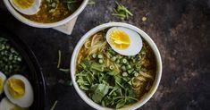 Lime and Cilantro: 30-minute shortcut Mohinga (Burmese fish vermicelli soup)
