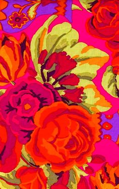 Rich vibrant flowers (rose)