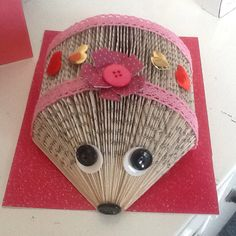 Love it! My hedgehog book folding!