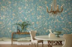 backgrounds chat virtual jeffries backdrops housebeautiful classic interior dining phillip seriously scenery purple change pattern griffin use