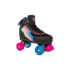 Rio Roller Passion Retro Roller Skate ❤ liked on Polyvore featuring shoes, toys and skates