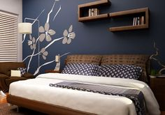 27 Creative Bedroom Painting Ideas | CreativeFan