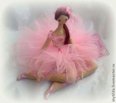 ''Pink Cloud Balerina''. (By Svetlana Bednenko)......pretty in pink! love her!....
