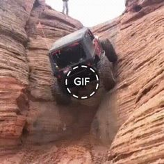 [GIF] The machine rises on a vertical rock Jeep Wrangler Pickup, Jeep Tj, Jeep Truck, Jeep Wrangler Unlimited, Wrangler Accessories, Jeep Accessories, 2006 Jeep Liberty, Old Pickup Trucks, Jeeps