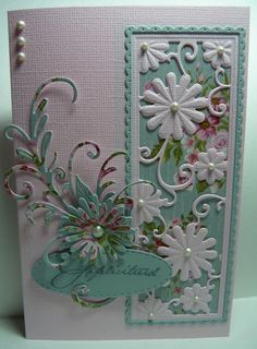 Butterfly Cards, Flower Cards, Cards Made With Unbranded Dies, 123 Cards, Marianne Design Cards, Fancy Fold Cards, Embossed Cards, Beautiful Handmade Cards, Pretty Cards
