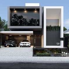 Architecture Discover Top 40 modern house designs ever built! Modern Exterior House Designs, Dream House Exterior, Exterior Design, Best Modern House Design, Modern Villa Design, Home Modern, Modern Homes, Contemporary Design, Architecture Design Concept