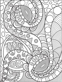 Abstract Coloring Page On Colorish Book App For Adults By GoodSoftTech