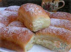 Hungarian Desserts, Hungarian Recipes, Hungarian Food, Homemade Dinner Rolls, Czech Recipes, Cheesecakes, Nutella, Dessert Recipes, Food And Drink
