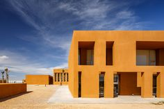 Completed in 2014 in Safi, Morocco. Images by Doublespace Photography. The project of the Laayoune Technology School in Morocco is part of the decentralization policy of universities centers in the different regions of...