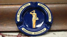icollect247.com Online Vintage Antiques and Collectables - Mountain States Telephone Advertising Ash Tray