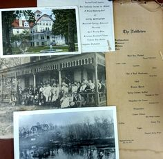 The Nettleton Hotel in Mammoth Springs, AR opened in 1899. The beautiful Victorian style building overlooked the river and served as a community hub until it burned in 1932. Read more about the Nettleton Hotel in the AHC October 2014 newsletter or visit NEARA to see more!