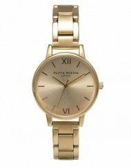 Olivia Burton Midi Dial Gold Bracelet Watch