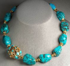 Turquoise Necklace, Jose & Maria Barrera