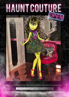 Monster Doll Eye of the Beholder high by HauntCoutureAtelier