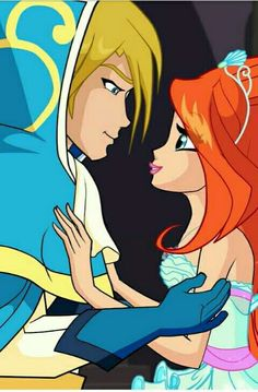 Winx club Bloom und Sky
