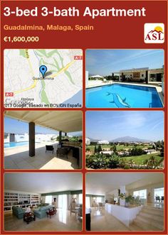 3-bed 3-bath Apartment in Guadalmina, Malaga, Spain ►€1,600,000 #PropertyForSaleInSpain