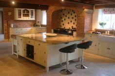 Bespoke Malton kitchen, handmade by The Main Furniture Company. www.mainfurniturecompany.com