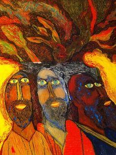 bearded men, vinodrai patel