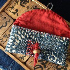 Sashiko Hand-Sewn Stitching/ Vintage Katazome by JapaneseBOROshop Sashiko Embroidery, Japanese Embroidery, Embroidery Patterns, Hand Embroidery, Japanese Patchwork, Japanese Textiles, Sewing Crafts, Sewing Projects, Boro Stitching
