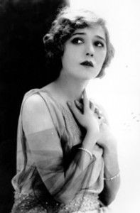 Mary Pickford - silent film actress 1892-1979