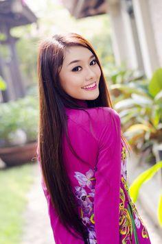 Thí sinh Hoa hậu Phụ nữ Việt Nam qua ảnh bay bổng với áo dài