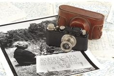 The first Leica of the famous photographer Robert Capa (estimated price 15,000 – 18,000 Euro) - WestLicht Camera Auction will take place on November 24, 2012  - - - Read more on LeicaRumors.com: http://leicarumors.com/#ixzz2761ubNq9