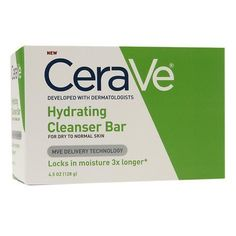 face cleanser Cerave Hydrating Cleanser Bar For Dry to Normal Skin, 4.5 Oz Pack of 3 * Continue to the product at the image link.