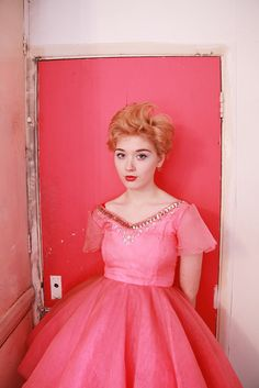 pink vintage all the way