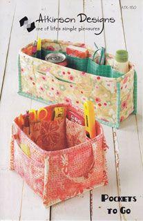 Atkinson Designs Pockets to Go - via Pink Chalk