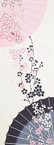 プレーリー 『日本製注染手ぬぐい 和柄』 番傘桜 TE-281 プレーリードッグ