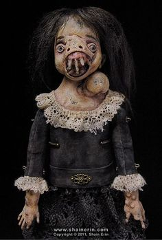'Malva' – Exquisite Monster Art Doll by Shain Erin.