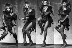 """""""I didn't have anybody, really, no foundation in life, so I had to make my own way. Always, from the start. I had to go out in the world and become strong, to discover my mission in life."""" ~ TINA TURNER ~ born 1939"""