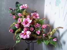sztuczna kompozycja kwiatowa - Поиск в Google