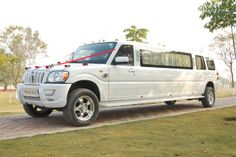 Nice pic of a stretched Mahindra Scorpio