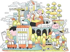 Illustration by Mikko Saarainen for Design Driven City, 2014