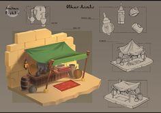 Entertainment Designs by Aleksandra Wojtas Bg Design, Prop Design, Game Design, Environment Concept Art, Environment Design, Zbrush, Pix Art, Modelos 3d, Game Concept Art