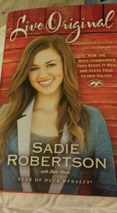 Live Original by Sadie Robertson and Beth Clark. Amazingly great read, discipleship, day-to-day relationship with God explained well for teen girls. It's not preachy but it is straight talk one teen to another. If you're a teen girl, you most likely will like this book if you are a Christian or open to the stances of being a Christian. Parents, if you're trying to raise a teen girl in today's world, you want your daughter to read and work through this book.