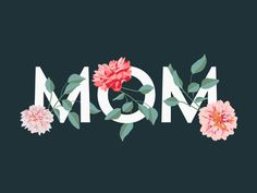 Mom Illustration designed by Naomi Dable. Connect with them on Dribbble; Mothers Day Images, Mothers Day Crafts, Happy Mothers Day, Normal Wallpaper, Iphone Background Wallpaper, Birthday Message For Mom, Diy Mother's Day Crafts, Cute Patterns Wallpaper, Mom Day