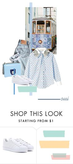"""""""postcard from far away"""" by dear-inge on Polyvore featuring adidas"""