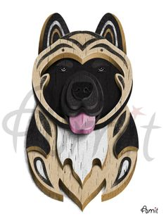 Hey, I found this really awesome Etsy listing at https://www.etsy.com/listing/63456763/akita