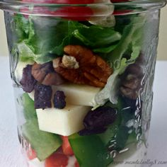 How to Pack a Salad in a Jar   Mom To Bed By 8