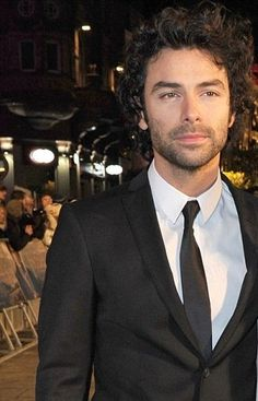 Yes, I KNOW I've posted it before, but I need my daily Aidan Turner, and there aren't enough new photos of him!!!