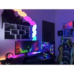 "1,210 Likes, 9 Comments - Mal - PC Builds and Setups (@pcgaminghub) on Instagram: ""Ever wondered what it would be like to go full RGB? Well, it'd be something a little like this.…"""