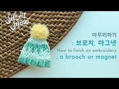 Hand Embroidery, Diy And Crafts, Crochet Hats, Brooch, Stitches, Design, Hampers, Needlework, Crocheted Hats