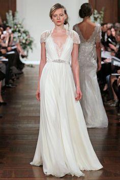 This is my dream wedding dress. So simple, elegant, flowy & beautiful. Designer: Jenny Packham