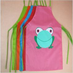 Frog cute kids children #kitchen baking painting apron baby art #cooking #craft b,  View more on the LINK: http://www.zeppy.io/product/gb/2/381691494448/